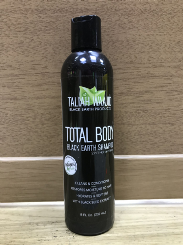 Taliah Waajid Total Body Black Earth Shampoo - 237ml